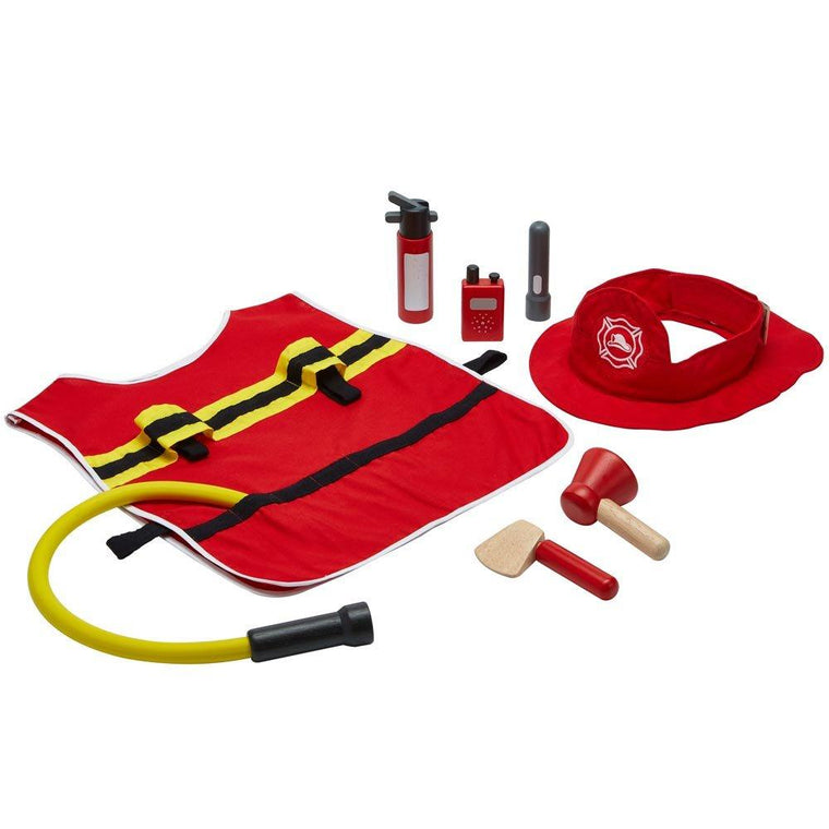 Plan Toys - Fire Fighter Play SET