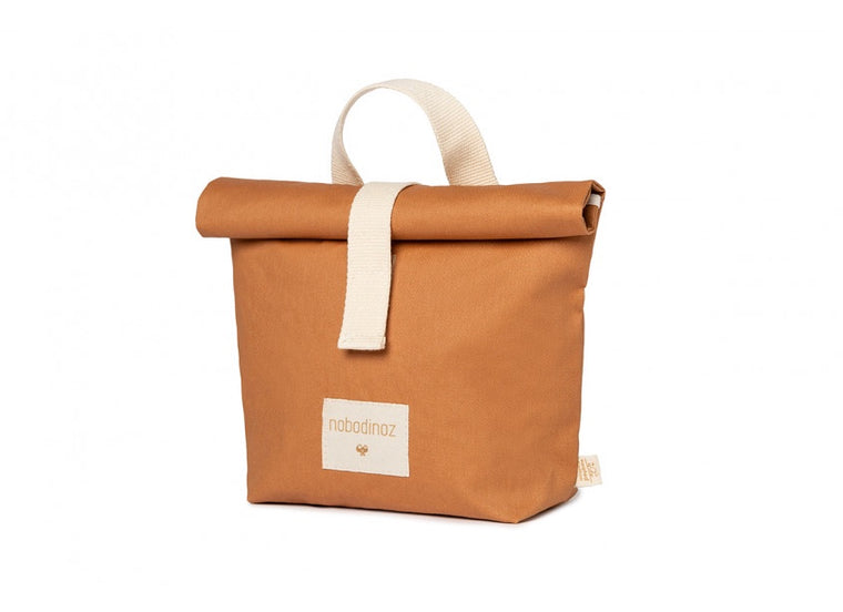 Nobodinoz Sunshine eco lunch bag • cinnamon