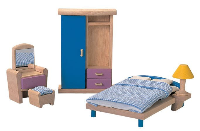 Plan Toys Dolls House Bedroom Neo