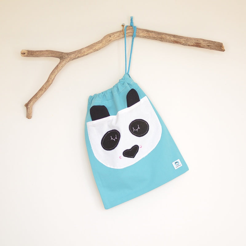 Panda Cotton Bag