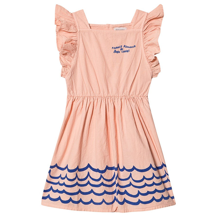 BOBO CHOSES Waves Woven Ruffle Dress