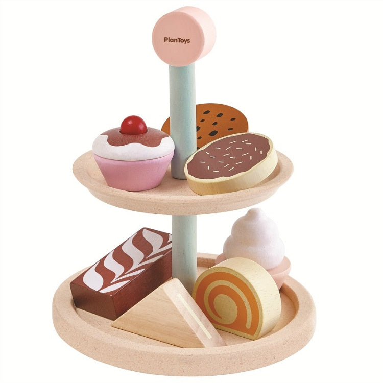 Plan Toys Bakery Cake Stand Set