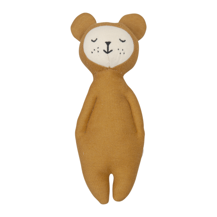 Fabelab SOFT RATTLE -  BEAR