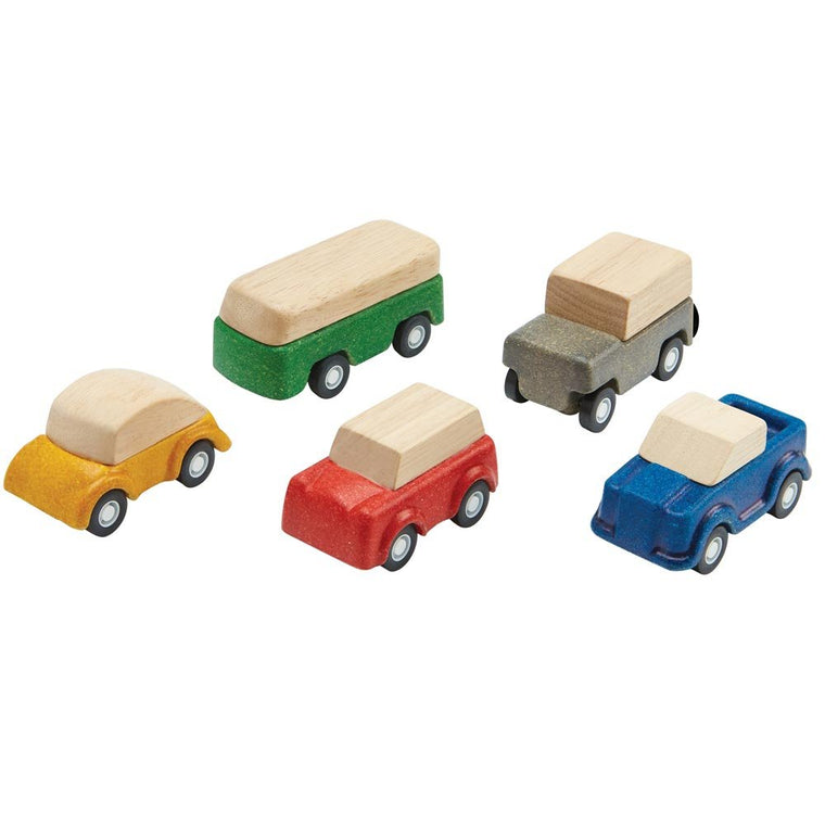 Plan Toys Plan World Cars Set