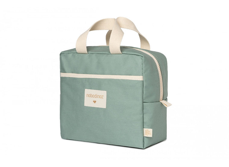 Nobodinoz Sunshine insulated lunch bag eden green