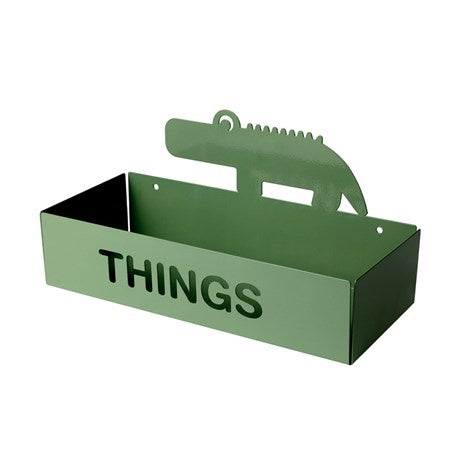 Things shelf Croco Green
