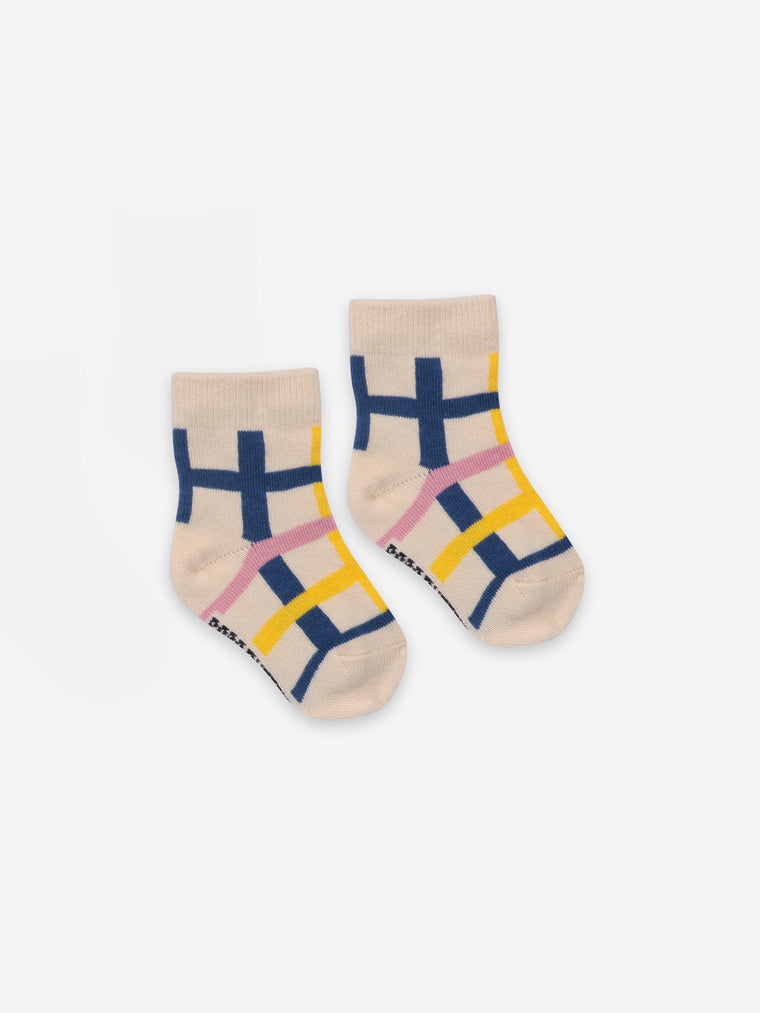 Bobo Choses Checkered BABY Socks