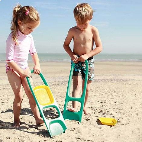 Quut Scoppi - Lagoon Green - The unbreakable shovel - Sand toy