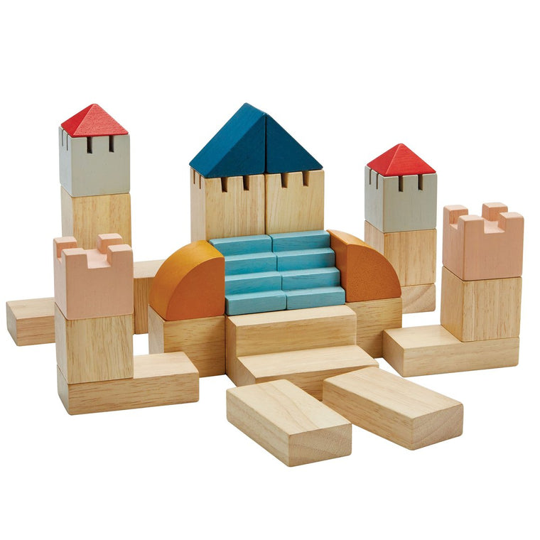 Plan Toys - Creative Blocks Orchard Collection