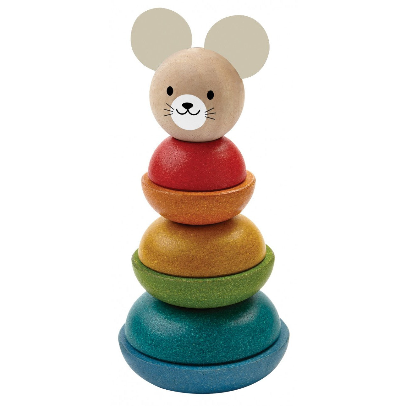 Plan Toys - Stacking Ring (Mouse)