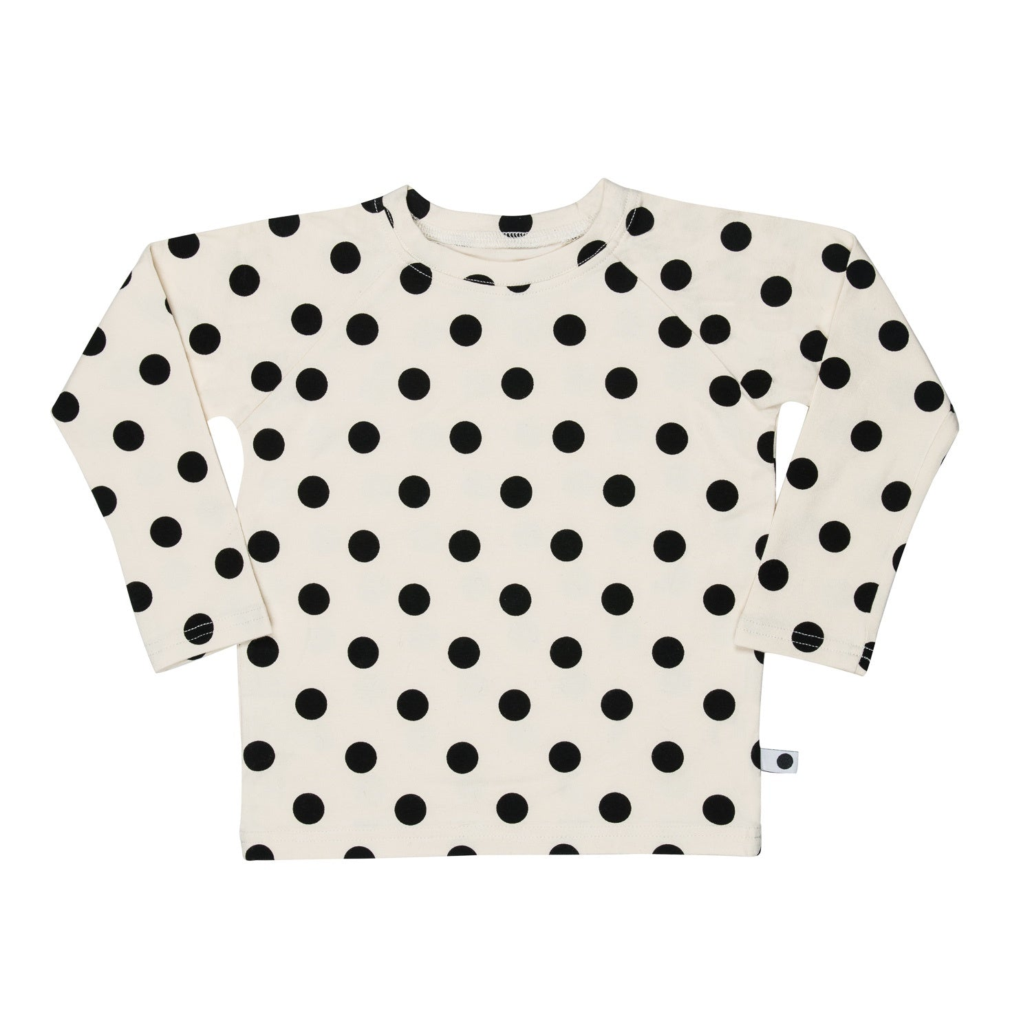 lamama Long Sleeve Big Dots