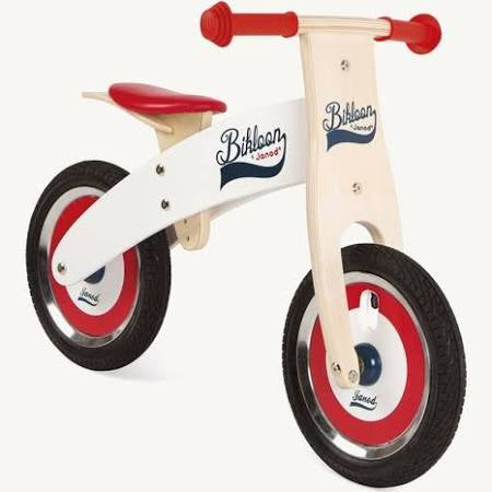 Janod BIKLOON RED/WHITE BALANCE BIKE