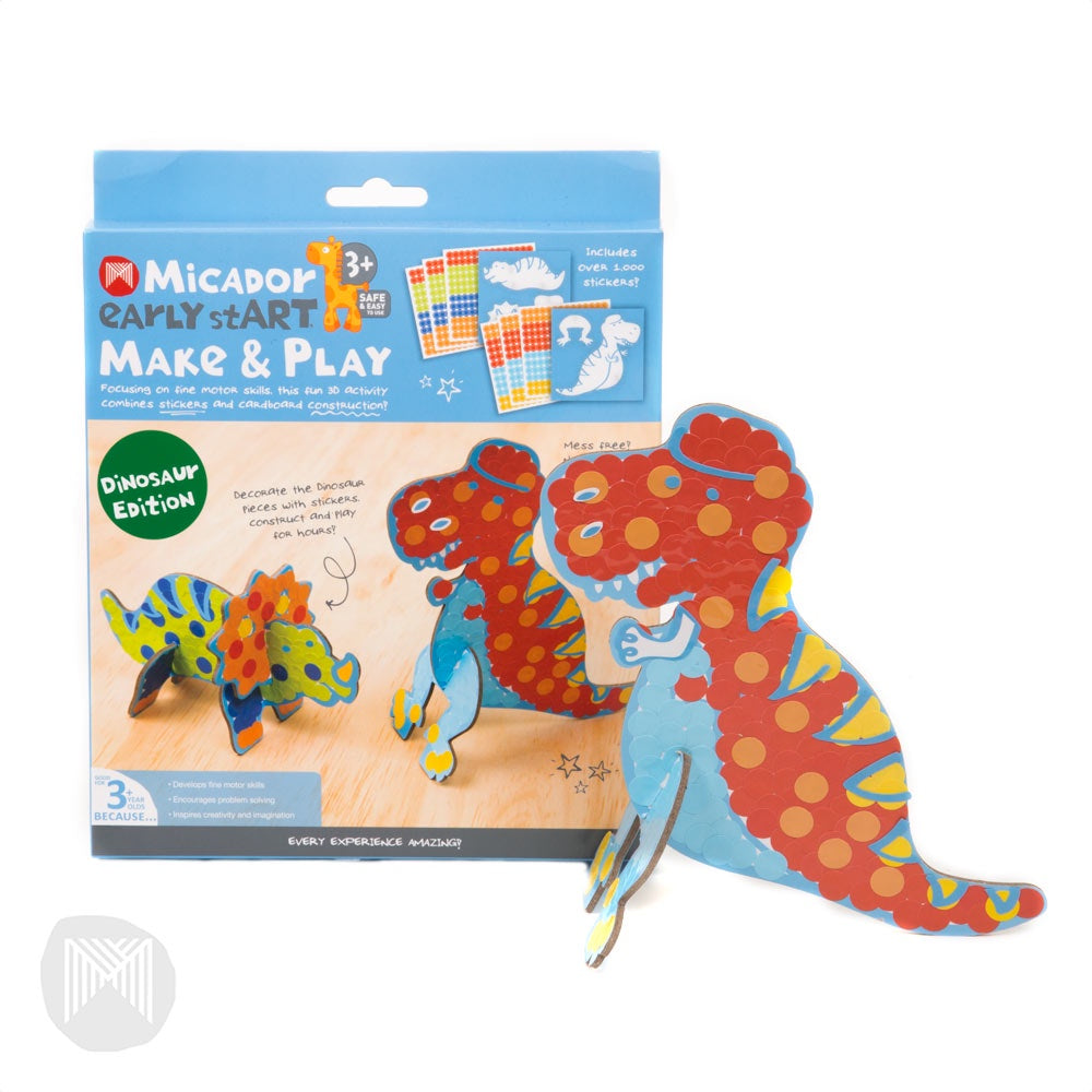 Micador early stART Make & Play - Dino Edition FSC Mix