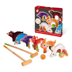 Janod FOREST ANIMALS CROQUET