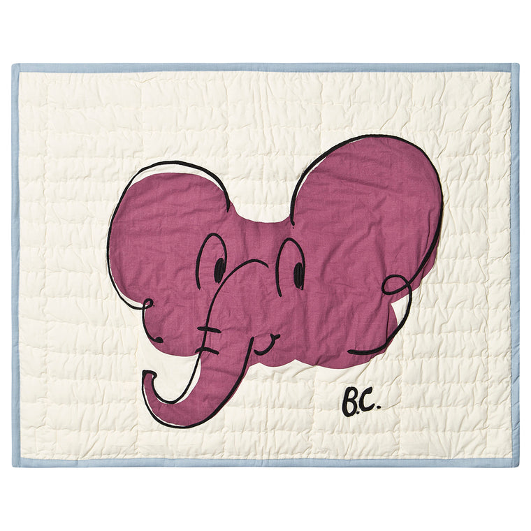 BOBO CHOSES Elephant Blanket 76x104