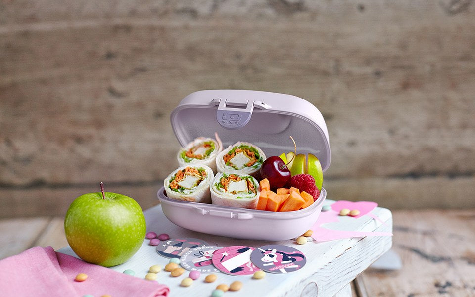 Monbento Gram Snack Box PURPLE UNICORN