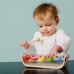 Oval Xylophone for Babies and Toddlers Plan Toys