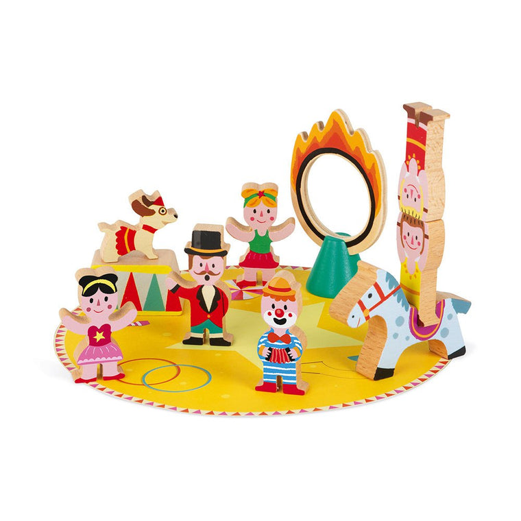 JANOD MINI STORY CIRCUS (WOOD)