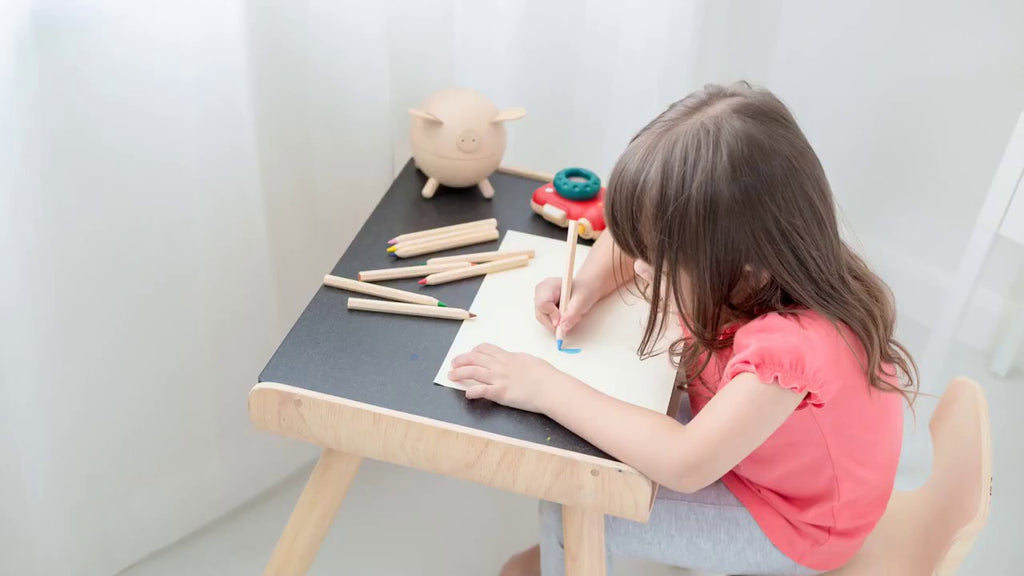 Plan Toys - TABLE AND CHAIR