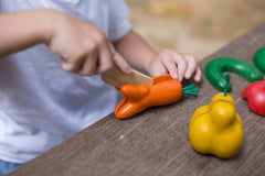 Plan Toys -WONKY FRUITS AND VEGETABLES