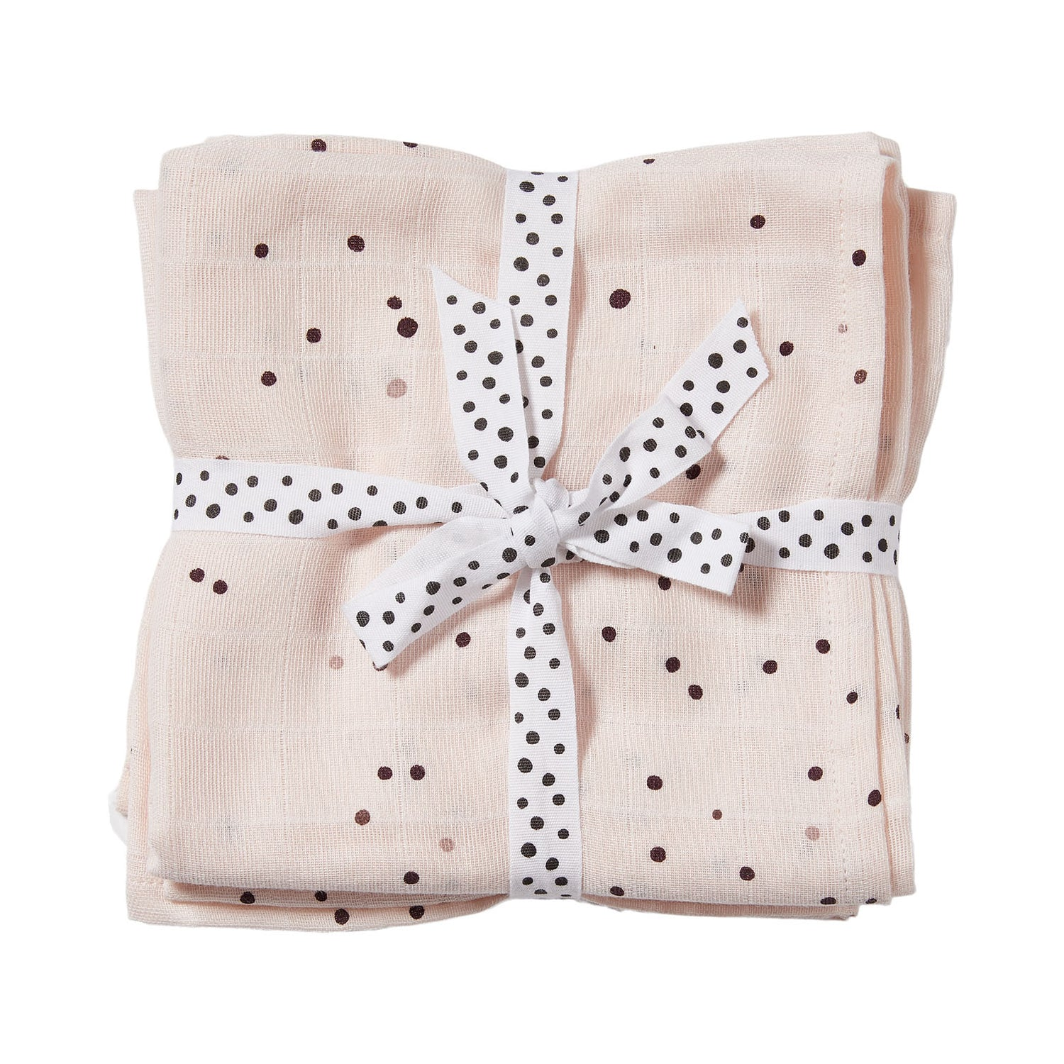 done by deer, Swaddle, 2-pack, Dreamy dots, powder