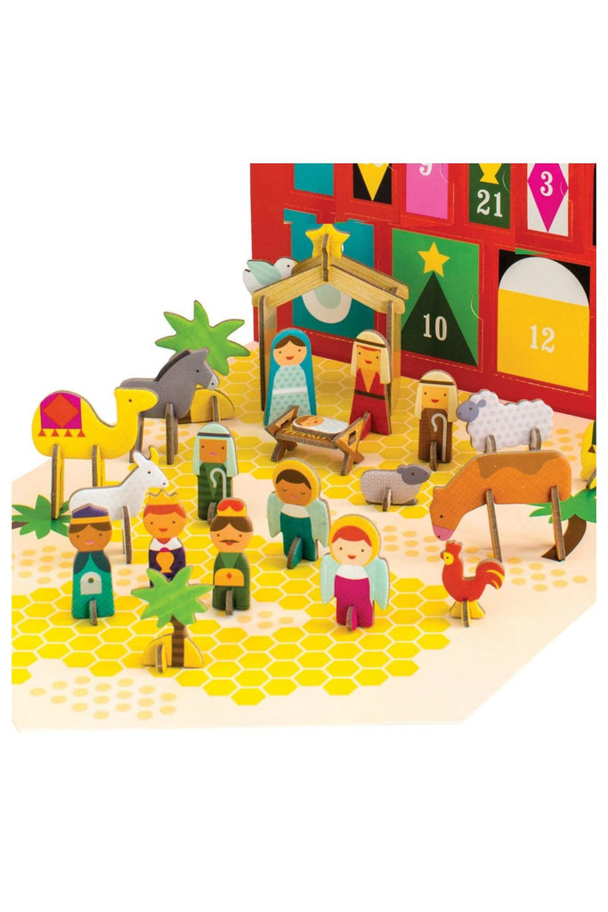 PETIT COLLAGE Advent Calendars - 3D Puzzel