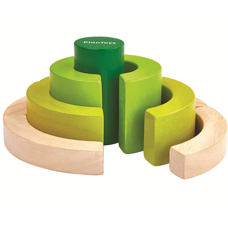 CURVE BLOCKS Plan Toys