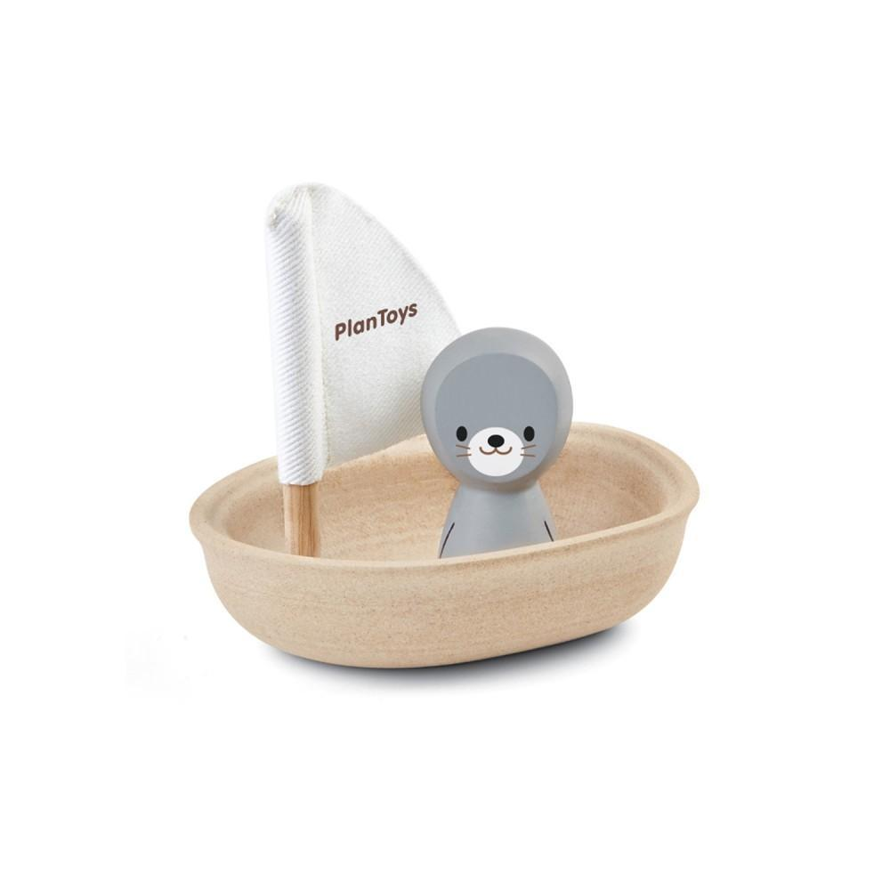 Plan Toys - Sailing Boat Seal