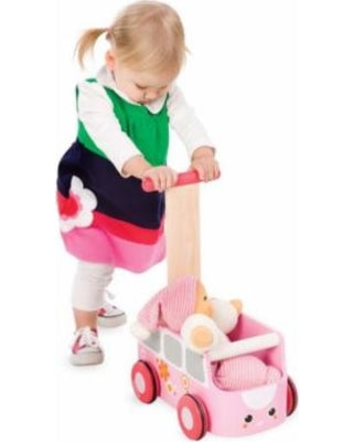 Plan Toys -Van Walker - Pink