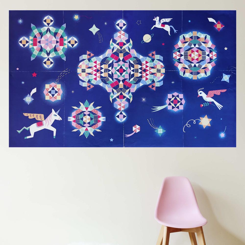 POPPIK Discovery Sticker Poster - Constellation