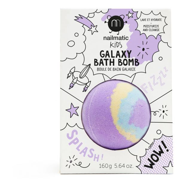 nailmatic KIDS Crackling bath bomb - Pulsar