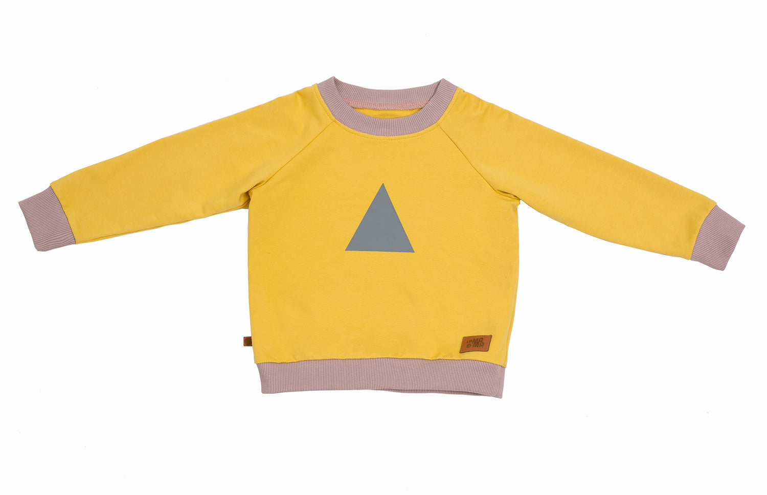 lamama Jumper Yellow Triangle