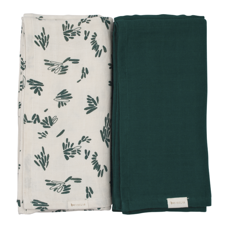 Fabelab Swaddle 2 pack  FOREST FLOOR