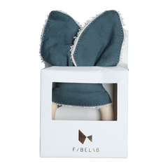Fabelab Animal Teether  WHALE Blue