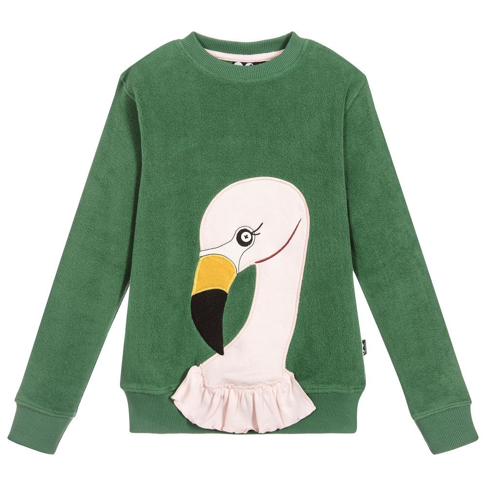 UBANG Flamingo Sweat - Hedge green