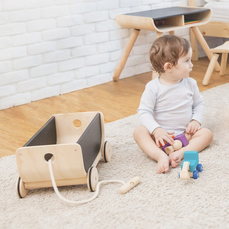 Plan Toys -Wagon - Black