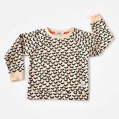 Indikidual - Wave Print Sweat Shirt