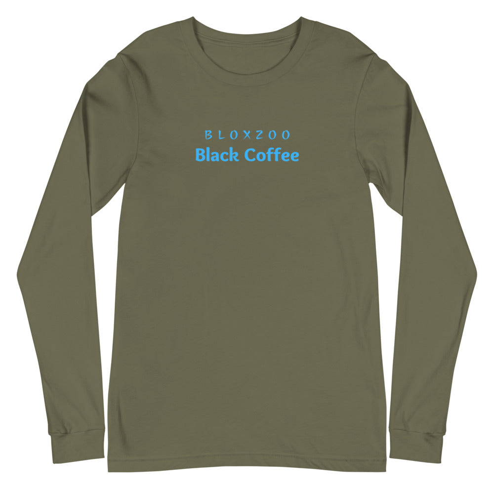 BloxZoo Black Coffee Unisex Long Sleeve Tee