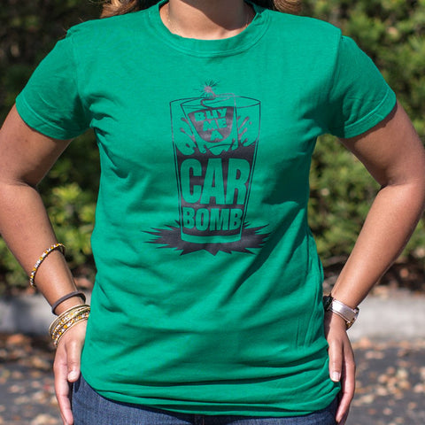 Ladies Buy Me A Car Bomb T-Shirt