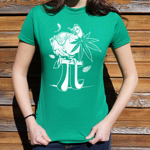 Ladies Chicken Pot Pi T-Shirt