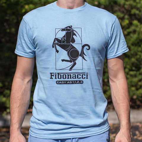 Mens Fibonacci Easy As 1123 T-Shirt