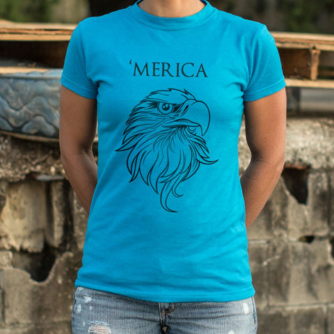 Ladies Merica T-Shirt