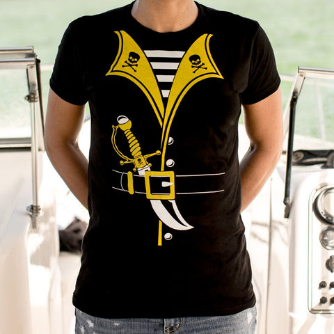 Ladies Pirate Outfit T-Shirt