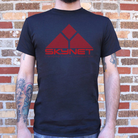 Mens Skynet Cyberdyne Systems Corporation T-Shirt