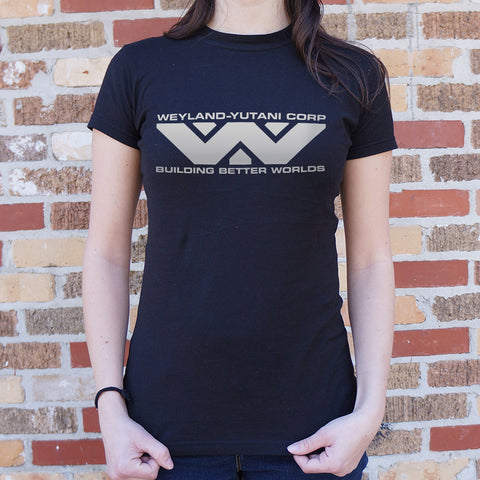 Ladies Weyland Yutani Corp T-Shirt