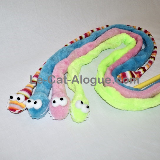 Canne à pêche serpent