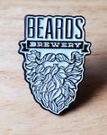 Enamel Beards Pin