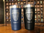 20oz Beards Tumbler