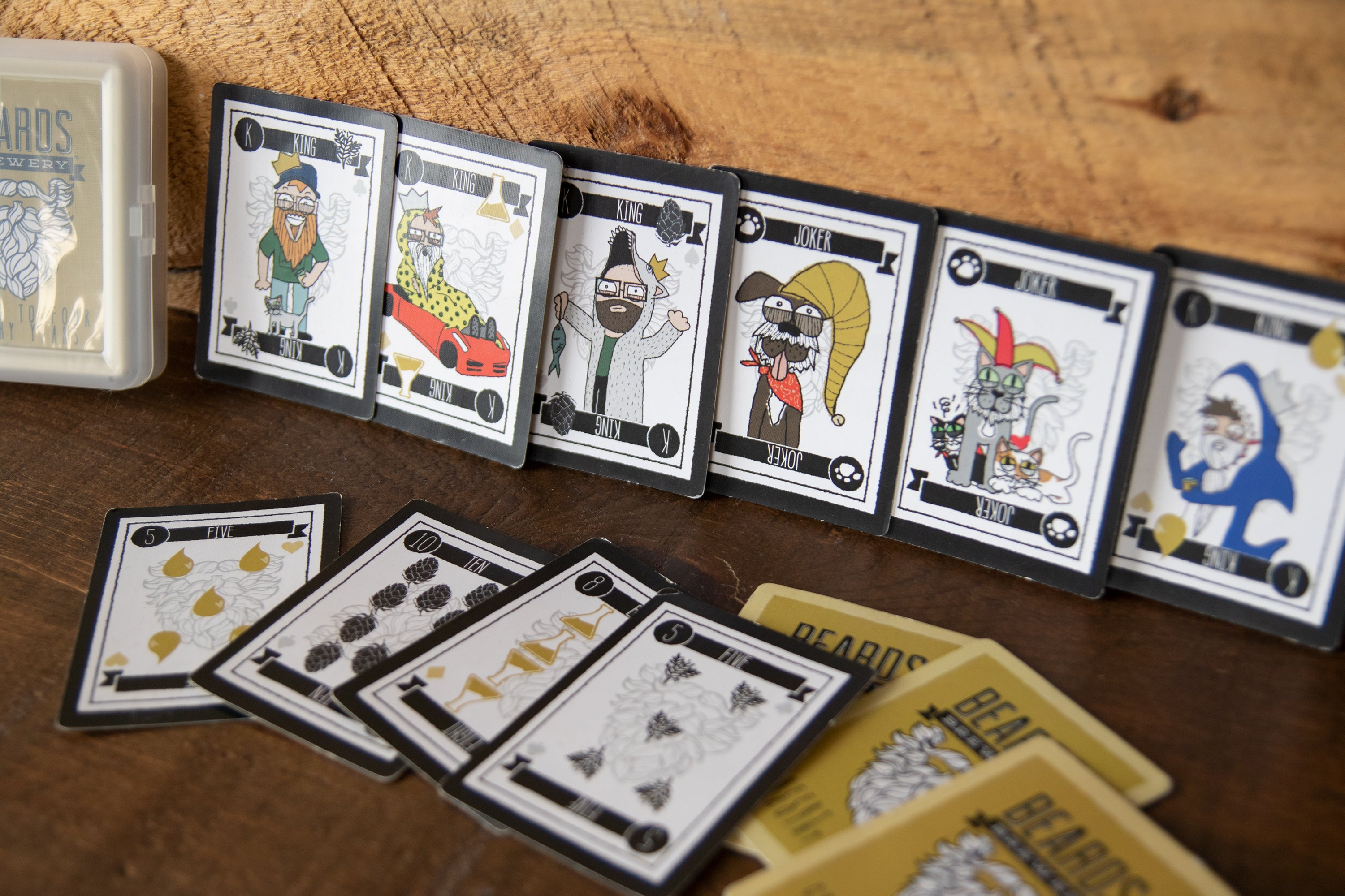 Beards 3rd Anniversary Playing Cards
