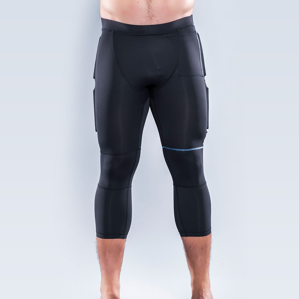 Men's CUT Weighted Quarter Compression Tights
